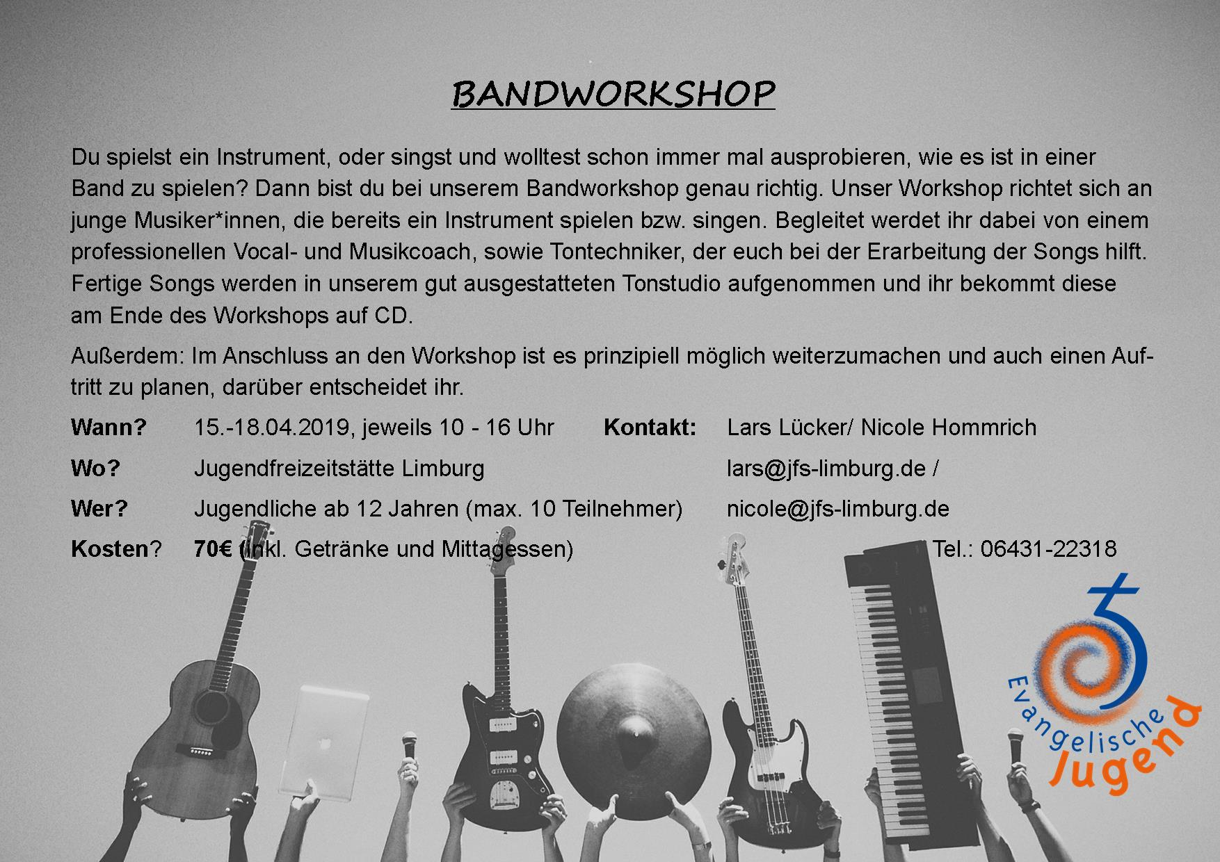 Bandworkshop JFS 2019