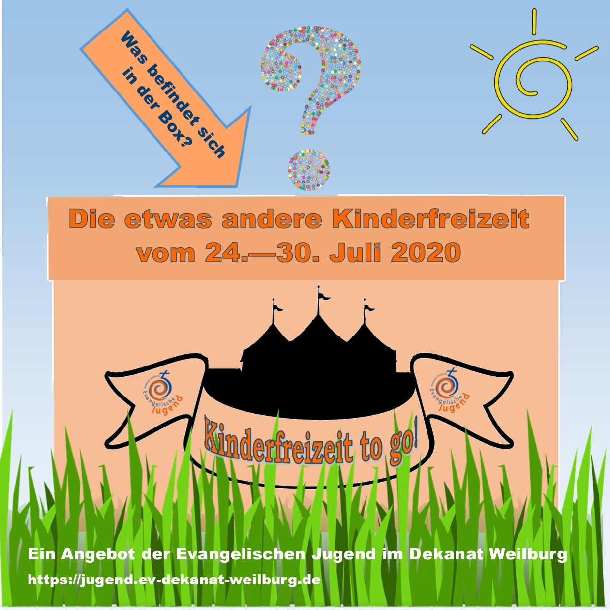 Kinderfreizeit to go 2020 Flyer